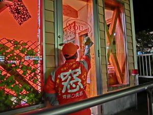 メンズヘアーYOU~1 窓ガラスぴかぴか 施工後