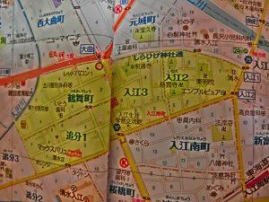 ポスティングチラシ 静岡市清水区鶴舞町、追分1、入江2と3