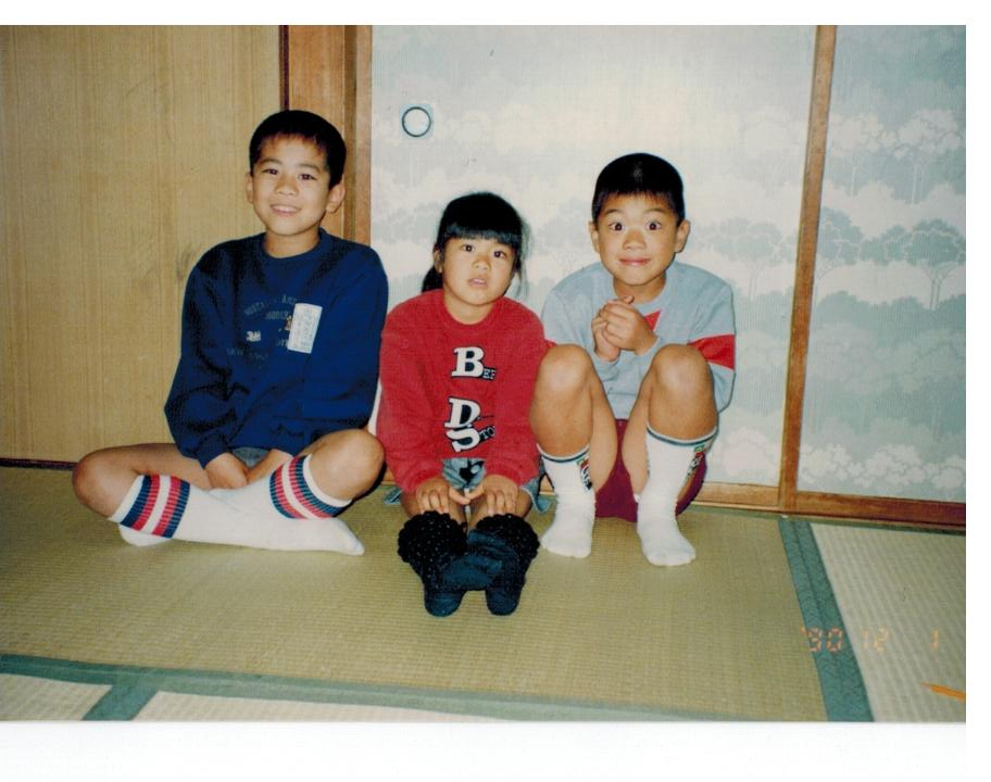 小学3年生のときの写真