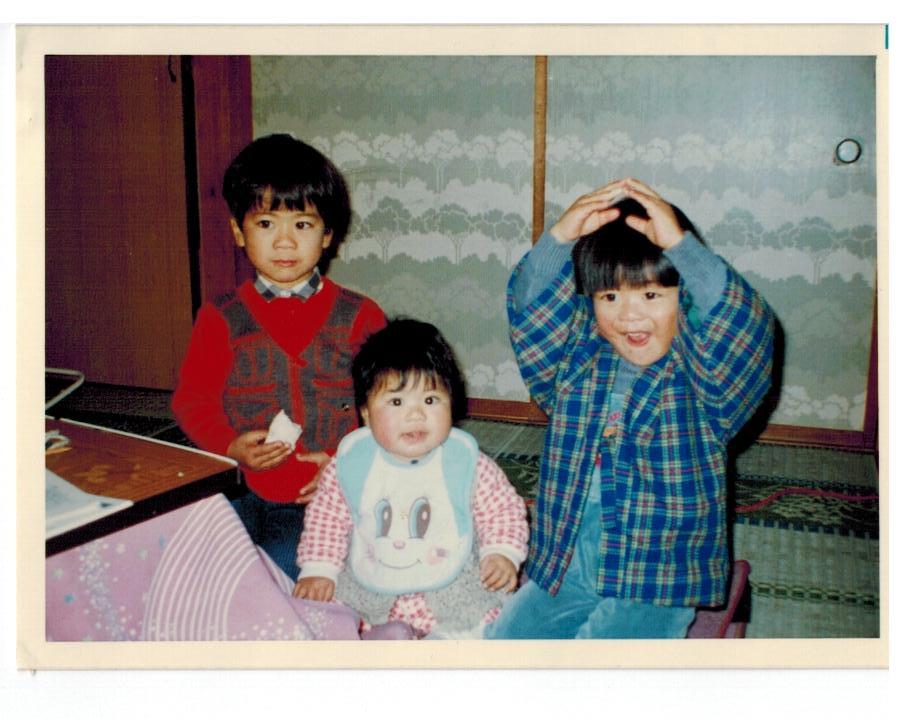 幼稚園くらいのときの写真
