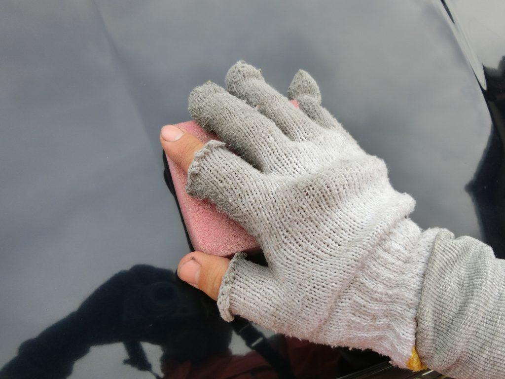 クルマのボディーに使ったピッチレスコートが取れない場合の対処