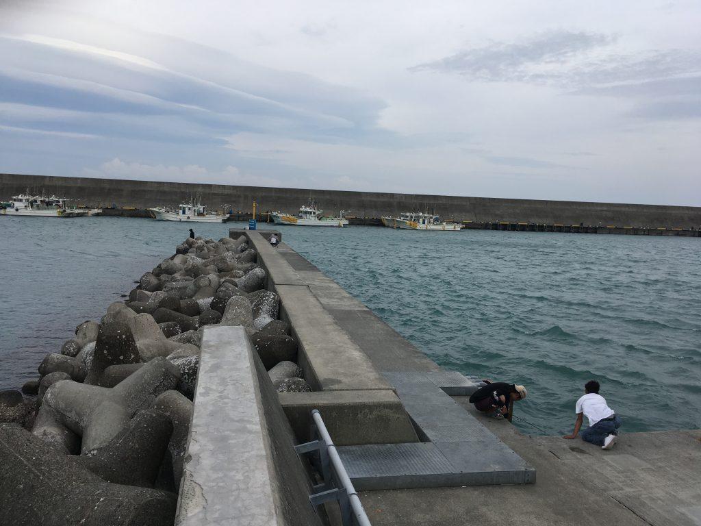 GW最後の日。由比漁港で釣りを楽しんだ