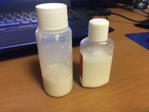 無料サンプルWAXお試しで使用するボトルを変更しました